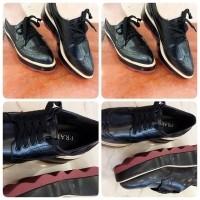 Jual 82 HK Import Mirror Quality ING Prada Hitam . Loafers Sepatu Premium  Quality  c777840f19