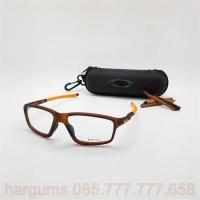 Jual Frame Kacamata Minus Oakley Crozzlink Zero Pria Coklat  8c0d55081e