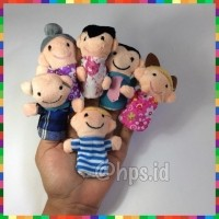 Daftar harga Boneka Jari Keluarga Finger Puppet Family Bulan Maret 2019 a60f565471