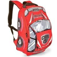 Tas ransel anak sekolah laki backpack cowok mobil merah hijau SD d15411b1ee