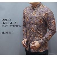 Daftar harga Kemeja Batik Lengan Panjang Batik Pria Bulan Februari 2019 584f750856