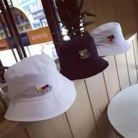 Topi Nelayan Gaya Hip Hop Korea dengan Cincin Besi untuk Pria Wanita 0791c53718