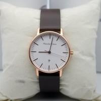 jam tangan wanita alexandre christie 8420 rose gold white original 3ef45bf857