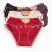12 pcs celana dalam wanita dewasa size S M L XL Cd RMC katun da9521964b