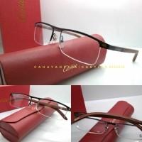 Frame Kacamata cartier 3524012 Black kacamata Premium 0ef6a9229e