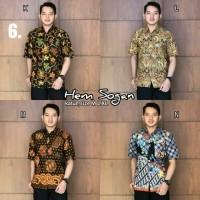 Hem sogan hem batik kemeja batik solo kemeja batik murah b37903522a