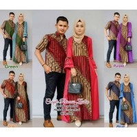 Daftar Harga Gamis Batik Kombinasi Polos Bulan Januari 2020