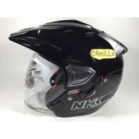 de441a90 Daftar harga Helm Nhk Predator Half Face Lain lain dalam Kategori ...