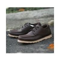 Sepatu Pria Formal   Kerja   Kantor Casual Bertari Modern - D-ISLAND B04 -  Coklat Muda   Coklat Gelap 29c7a5a63b