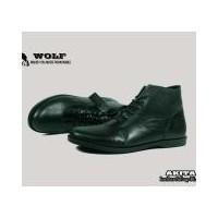 Daftar harga Sepatu Kulit Pria Boots Wolf Brodo Black Bulan Januari 2019 16c18fe517
