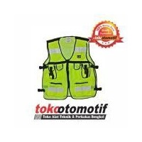 Rompi Jaring 6 Kantong Safety Vest Scotlite Scotlight Hijau - rompi jaket  proyek - motor touring b75f9e81cb