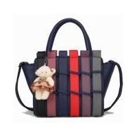 Lauren Tas Branded Premium Fashion Import Korean Women + Boneka - Blue  (407043229) 1db6ec3f42
