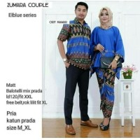 TERMURAH – Baju Batik Couple - Kebaya Couple Modern - Couple Batik – Batik  Sarimbit - Baju Gamis Wanita Terbaru - Batik Kondangan - Baju Batik Zumara  Biru 7c7aa18564