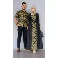 TERMURAH! Baju Batik Couple   Couple   Dress Batik   Baju Batik   Baju  Muslim Wanita Terbaru 2018   Gamis Wanita Terbaru   Batik Sarimbit   Baju  Batik ... 5a38772837