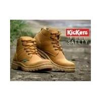 Sepatu Kickers Bull Safety   Kickers Boots Kulit FullUp   Sepatu Boots  Safety Pria Kickers f2c083070e