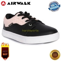 Sepatu Casual Sneaker Anak Airwalk Jarri JR (G) AIW17CXG1134 - Black Pink  (396129627 e7c17fa3b0