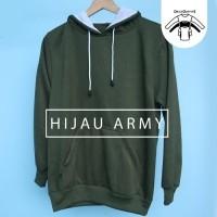 Jaket Sweater Polos Hoodie Jumper Hijau Army - Premium Quality (SWEATER  HOODIE POLOS MURAH BERKUALITAS) SWEATER HOODIE POLOS PRIA WANITA KEKINIAN 97aba0b363