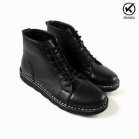 sepatu pria boots kulit sapi asli sepatu original kenzio nevada (451863863) 91ca220230