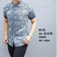 Baju Batik Pria   Kemeja Batik Pria   Atasan Pria   Batik Modern   Batik  Slimfit 098bb1b4df