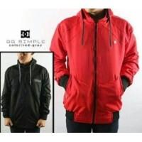 Jaket Parasut pria wanita Bolak-Balik model terbaru murah jaket BB Merah ( 7791a3fd55