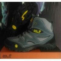Sepatu Gunung Jack wolfskin waterproof bahan kulit asli (441675043) 153f284194