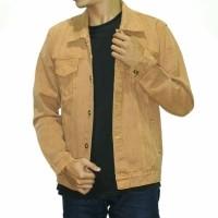PROMO Jaket Jeans Denim Casual Pria - BROWN   jaket pria   jaket jeans    jaket 7c83411fb6