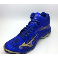 Sepatu Volley Mizuno Original Wave Lightning Z4 Mid Blue V1GA180551  (427116896) 4d35710c4c