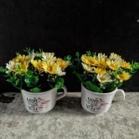 Daftar harga Bunga Plastik Bunga Palsu Dekorasi Rumah Cafe Bulan ... 62ef745361