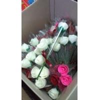Bunga mawar tangkai kemas plastik   mawar flanel setangkai (382121130) e7a8e7c0be