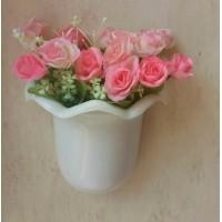 Daftar harga Artificial Bunga Ros Dengan Vas Persegi Panjang Bulan ... bb3b3a9491