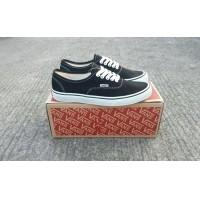 sepatu vans authentic black white premium BNIB made in china waffle IFC -  sepatu sneaker vans import 281af1aef4