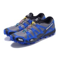 Men  S Otentik Salomon S-LAB Jatuh Cross 2 Sepatu Hiking Alas Kaki Lari 7ab314acc5