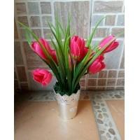 Daftar harga Artificial Bunga Tulip Pot Mahkota Bulan Maret 2019 b8c79b9a6e