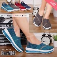 Sepatu bernice-Kiddo flat Tinggi-sepatu bernice wanita-H436 (536340786) fca235b8d1
