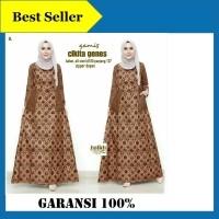 Gamis Wanita Gamis Batik Baju Muslim Modern Busana Muslim Terbaru  (500530049) ae56b1044c