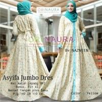 Gamis Asyifa Jumbo Dress Katun Jepang Ori Busui Fit Xl Manset Tangan Plus Saku Model Baju Gamis Terbaru 2019 Jual Model Gamis Anak Remaja Kombinasi