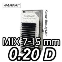 aa86e49b905 PROMO NAGARAKU 0.20D MIX 7-15mm Bulu Mata palsu eyelash extension  individual - bqbNbFiZ