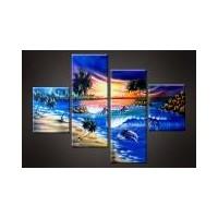 87 Gambar Lukisan Pemandangan Sunset Gratis