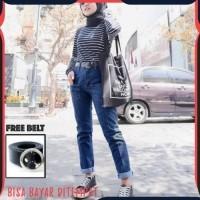 Daftar Harga Celana Jeans Murah Wanita Highwaist List Bulan Agustus 2020