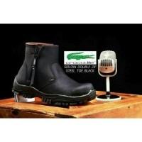 Best Deal Super Sale Lebaran Murah ! Boots Premium Crocodile Sorloin Double  Zip (25258081) fb0c7412a4