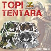 TOPI KAIN ANAK MOTIF MILITER TENTARA   ARMY 4 PILIHAN WARNA - MIN-11 ( b5911cbc81