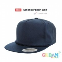 9e431c3d2b1 6002 Classic Poplin Golf Snapback Flexfit Yupoong  Topi Hip Hop  (25393303)