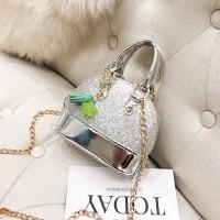 tas pesta glitter glossy 14269 mini fashionbag import nikah kondangan  elegan premiumbag unik manik wm fashionis e41a99be69