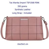 Tas Wanita Import TSF1568 PINK- Tas Selempang Cewek Mini- Tas Slempang  Wanita Kecil- ce2f6454b7