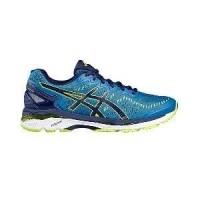Asics Gel Kayano 23 Mens Running Shoes Indigo Blue Lime Green (25601891) 0c4acea87d