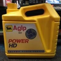 Jual Oli Mesin Agip Power HD Bensin Die Murah
