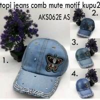 Daftar harga Topi Jeans Wanita Cewek Import Bulan Maret 2019 117e03dba3