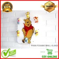 Jam Dinding Akrilik Karakter Winnie The Pooh Figure Wall Clock (25930411) 84004e869b