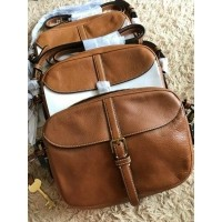 Jual tas Fossil Kendal saddle brown sling bag original (25949721) de8b6bae16