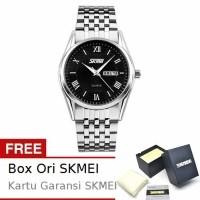 Jam Tangan SKMEI Rolex Pride 9102 Putih Biru Original Import Tahan Air -  Hitam (26334761 7eb1873316